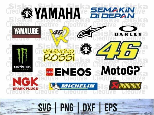 MotoGP Repsol Honda Team SVG Bundle 1 Vectorency MotoGP Monster Energy Yamaha Team SVG Bundle