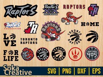 Toronto Raptors SVG Cricut File Vector