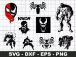 Venom SVG Bundle