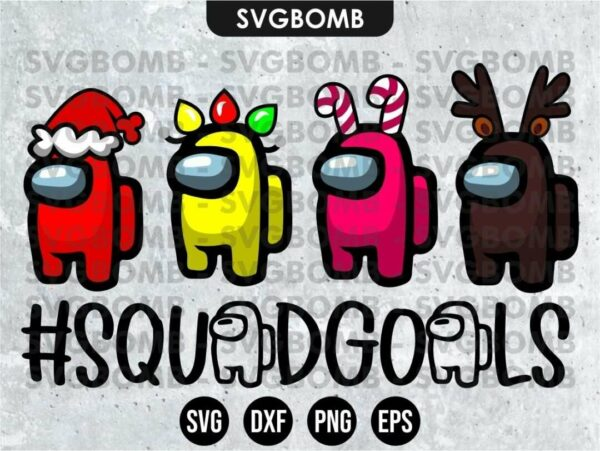 among us Squadgoals Christmas Gamer