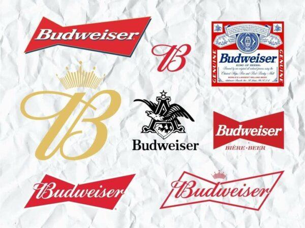 budweiser logo svg bundle