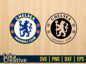 chelsea logo SVG digital cut file