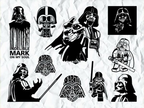 darth vader svg bundle Vectorency Darth Vader SVG Bundle