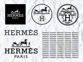 hermes logo svg bundle