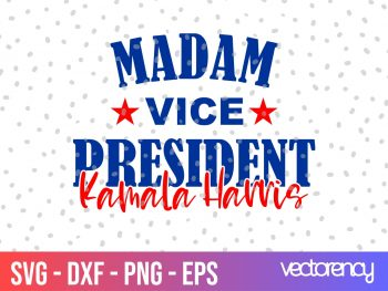 madam vice president SVG kemala harris svg png