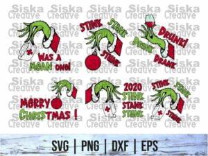 stink stank stunk svg cut file