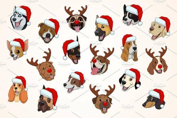 125185154 10224953775498061 6560895177304062271 n Vectorency 50+ Vector Dog Christmas - Dog Hat PNG - Dog Hat Christmas - Christmas Pooches