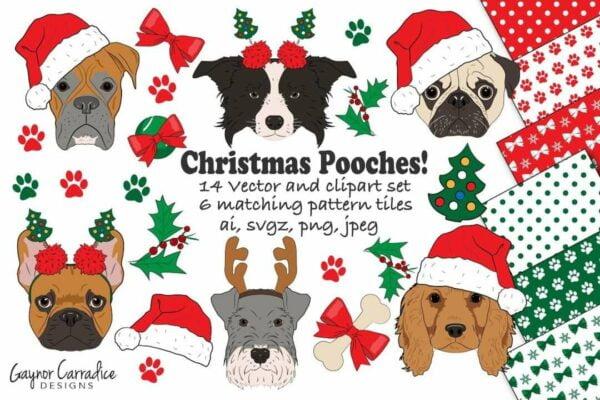 125195054 10224953775818069 272851888052558797 o Vectorency 50+ Vector Dog Christmas - Dog Hat PNG - Dog Hat Christmas - Christmas Pooches