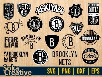 Brooklyn Nets SVG Bundle cut file