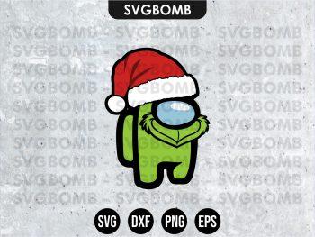 Grinch Among Us SVG Cricut Files