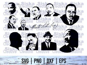 Martin Luther King SVG Bundle Cutting File Cricut