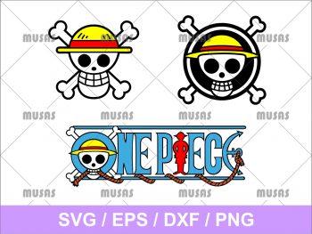 One Piece Logo Svg Cricut File Vector