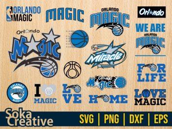 Orlando Magic SVG Bundle Cricut File
