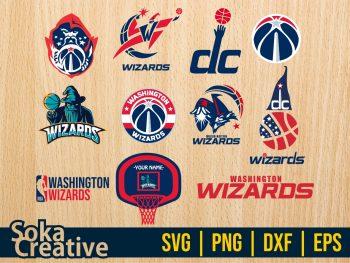 Washington Wizards SVG Bundle Cricut File