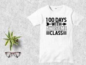 100 Days with Awesome Class SVG