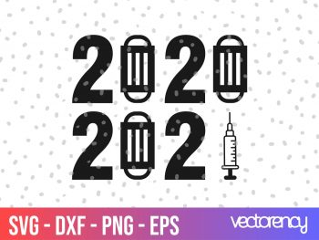 2020 2021 svg cut file