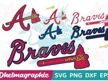 Atlanta Braves Logo SVG PNG EPS DXF