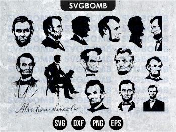 Abraham Lincoln SVG