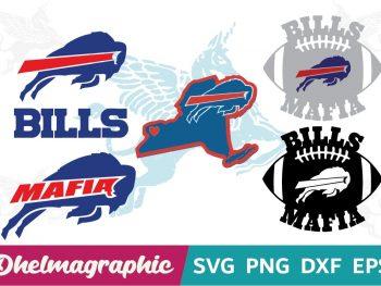 Bills Mafia Bundle SVG