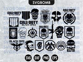 Call of Duty SVG Bundle