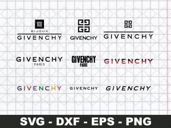 Givenchy Logos SVG Bundle