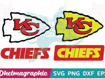 Kansas City Chiefs Logo Bundle SVG
