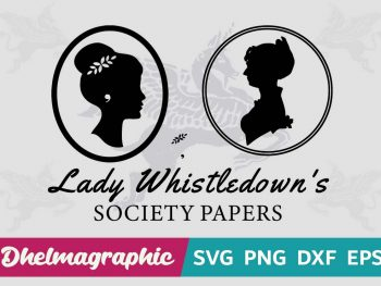 LADY WHISTLEDOWN'S SVG