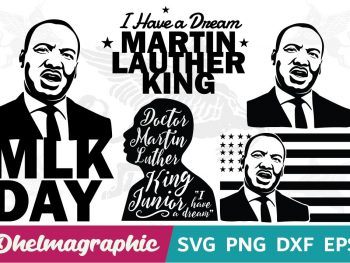 Martin Lauther King Bundle SVG