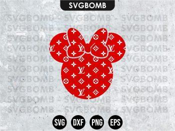 Mickey Mouse LV SVG