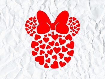 Minnie Heart Disney SVG