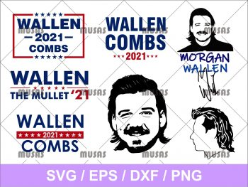 Morgan Wallen SVG Bundle
