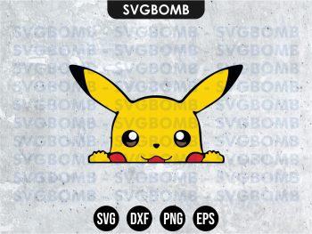Pikachu Pokemon SVG