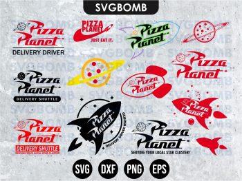 Pizza Planet SVG Bundle