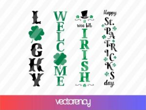 St Patricks Day Sign SVG
