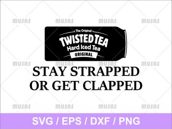 The Original Twisted Tea SVG