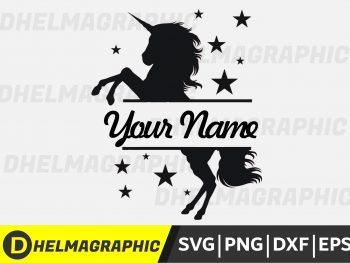 UNICORN STAR SVG