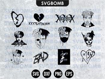 XXXTentacion SVG