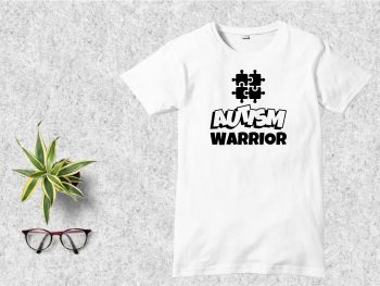Autism Warrior T-Shirt Design SVG