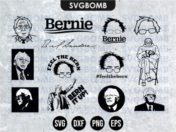 Bernie Sanders SVG Bundle