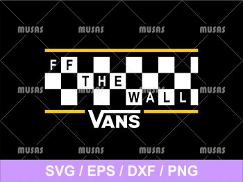 FF the Wall Vans SVG