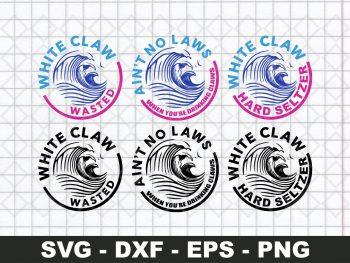 White Claw Logo SVG Bundle