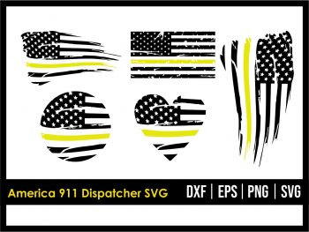 America 911 Dispatcher SVG