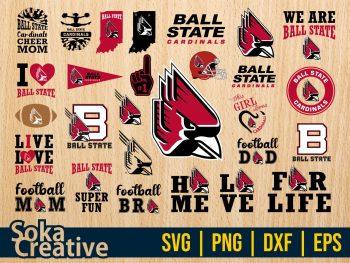 Ball State Cardinals SVG