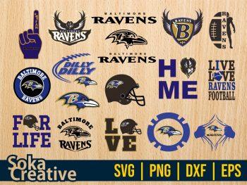 Baltimore Ravens SVG