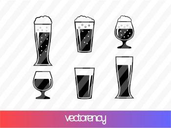 Beer Glass SVG