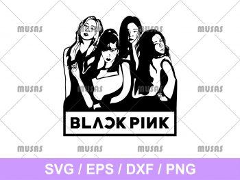 Blackpink Silhouette SVG
