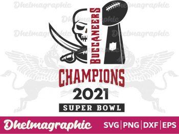 Buccaneers Champions 2021 SVG
