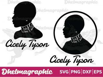 Cicely Tyson SVG