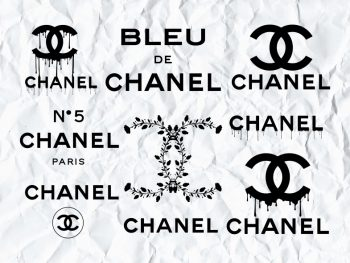 Chanel SVG DXF PNG EPS