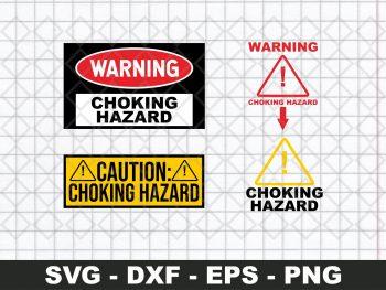 Choking Hazard SVG